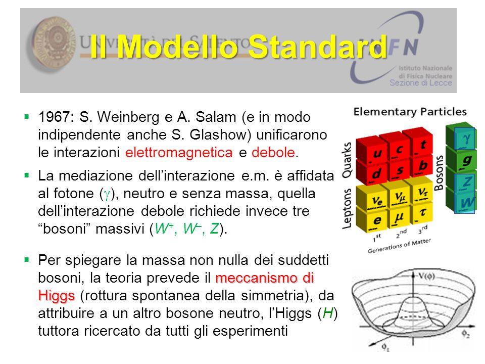 Il decadimento del neutrone W e – du  Le interazioni tra le particelle elementari sono descrivibili tramite i diagrammi di Feynman