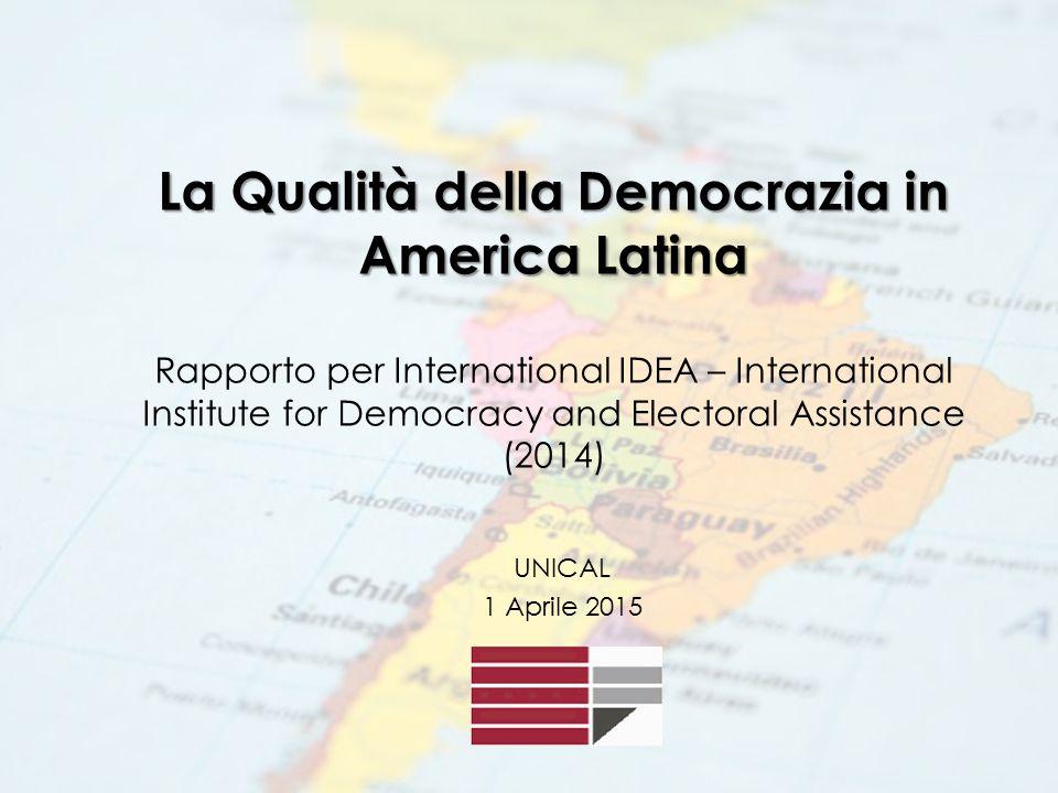 L' International Institute for Democracy and Electoral Assistance (International IDEA) è un'organizzazione intergovernativa che ha l'obiettivo di supportare la democrazia sostenibile su scala mondiale.