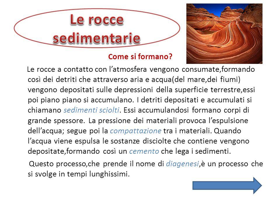 I sedimenti non si depositano con velocità costante,ed è per questo motivo che gli accumuli di rocce sedimentarie hanno struttura discontinua e sembrano costituiti da strati.