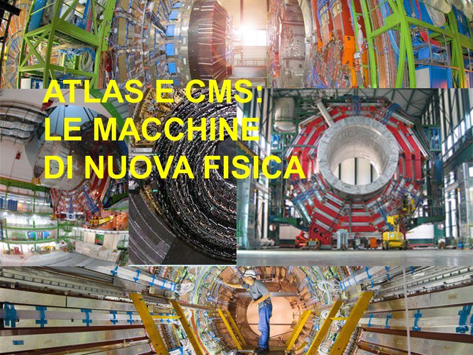 ATLAS E CMS: LE MACCHINE DI NUOVA FISICA