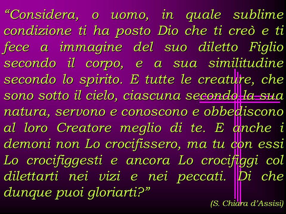 « Cristo prese su di sé le sofferenze dell'uomo sofferente attraverso il corpo soggetto alla sofferenza, e distrusse le passioni della carne.