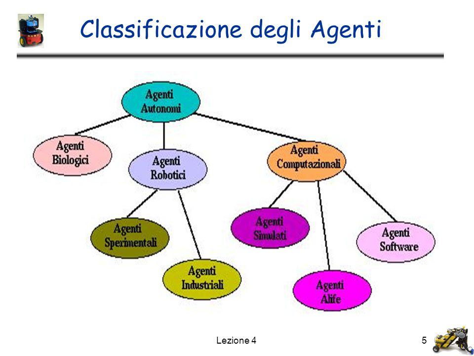 Lezione 45 Classificazione degli Agenti