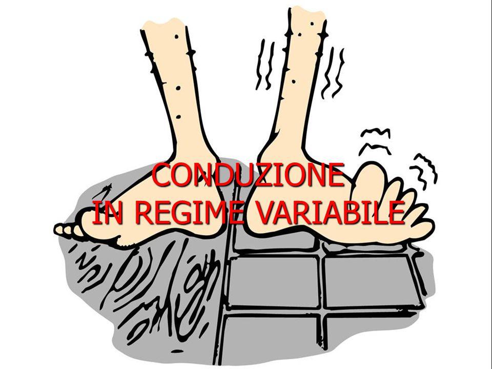 Conduzione in regime variabile CORPO SOTTILE 1/5 T uniforme x y z volume V, superficie A h = costante T ambiente = T  Corpo in quiete, T all'istante τ =0 pari a T i