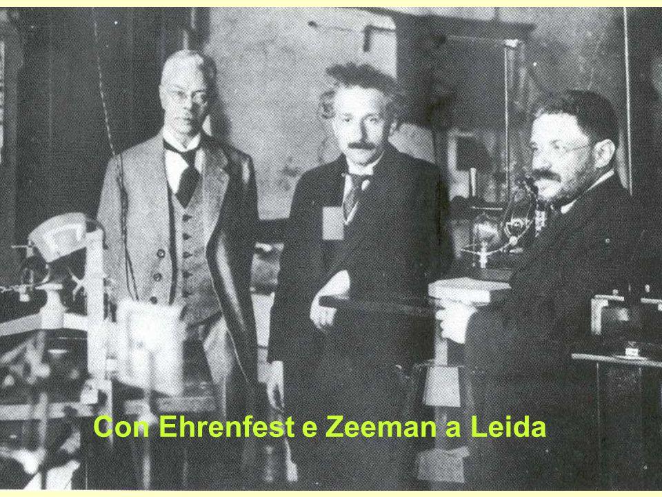 Con Ehrenfest e Zeeman a Leida