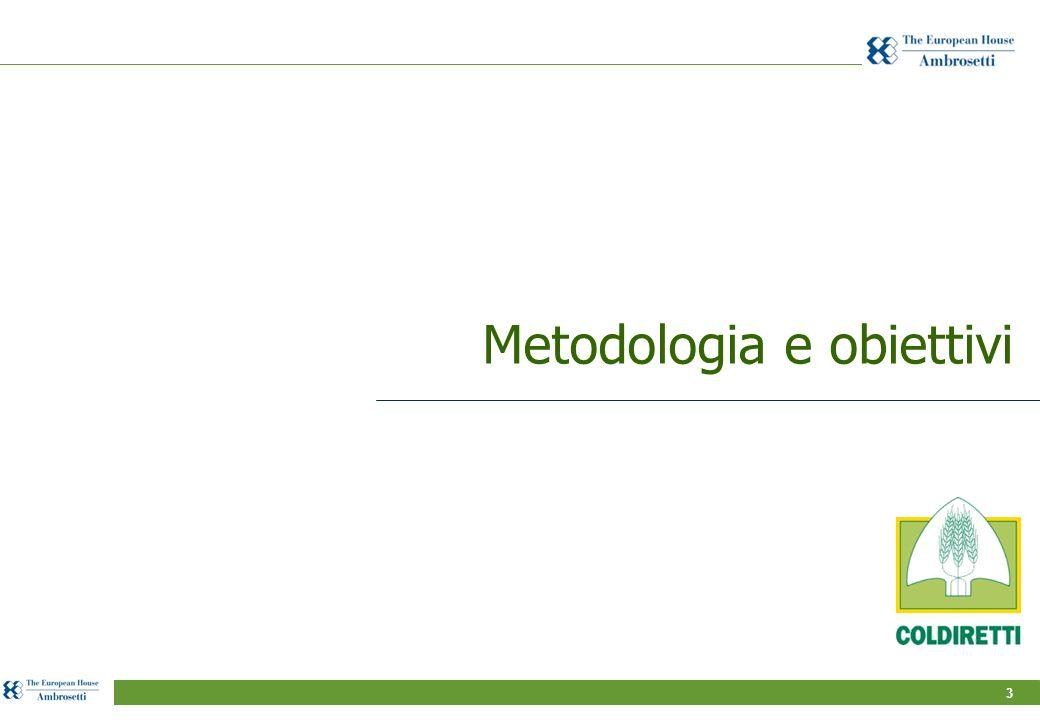 3 Metodologia e obiettivi