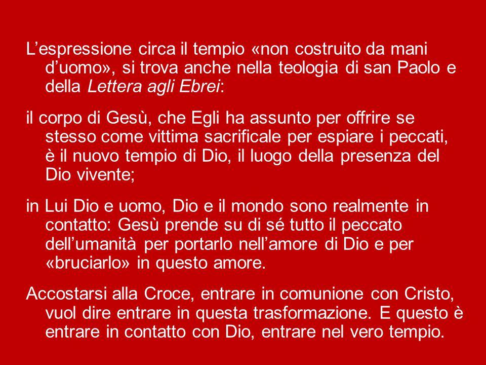 Stefano non nega l'importanza del tempio per un certo tempo, ma sottolinea che «Dio non abita in costruzioni fatte da mano d'uomo» (At 7,48).