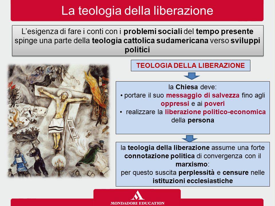 TEOLOGIA DELLA LIBERAZIONE La teologia della liberazione L'esigenza di fare i conti con i problemi sociali del tempo presente spinge una parte della t