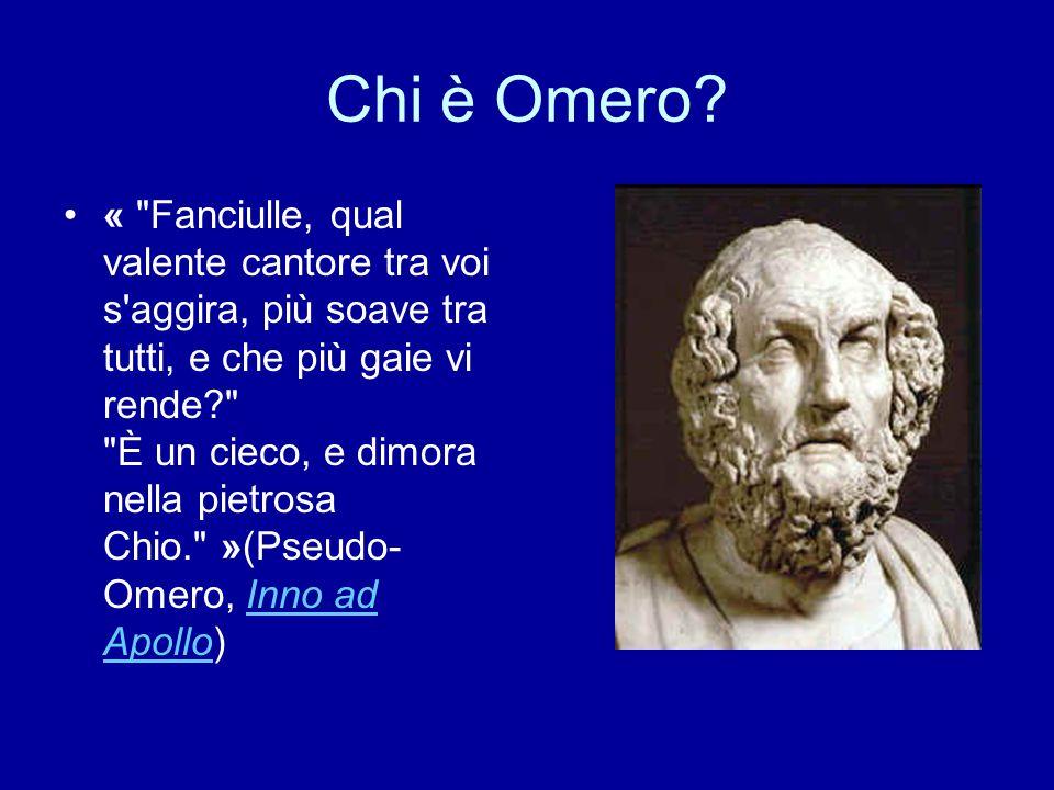 Chi è Omero? «
