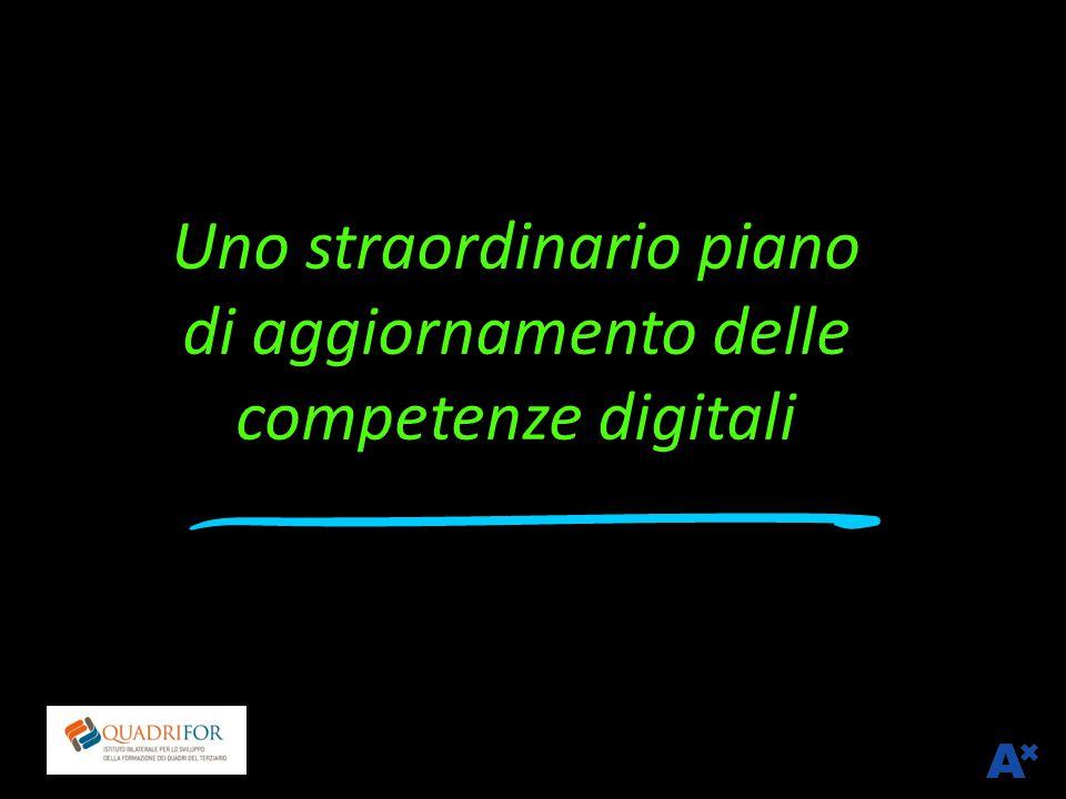 Uno straordinario piano di aggiornamento delle competenze digitali Franco Amicucci