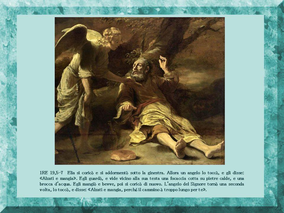 Tobia 11,7 L'angelo Raffaele disse a Tobia: Spalma il fiele sui suoi occhi e tuo padre rivedrà.