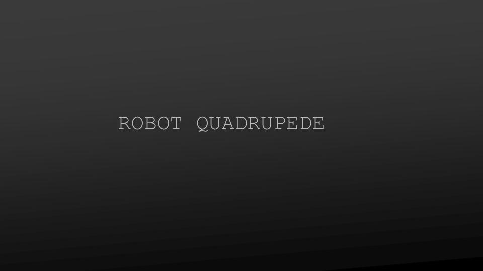 ROBOT QUADRUPEDE