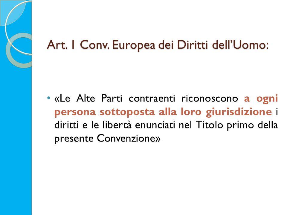 Art. 1 Conv.