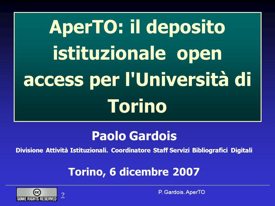 P. Gardois.