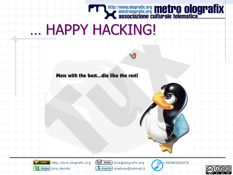 … HAPPY HACKING.