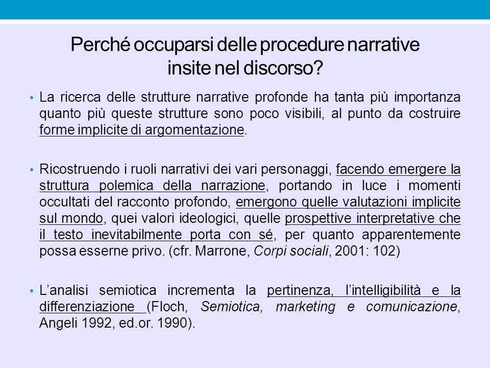 Strutture semio-narrative B.