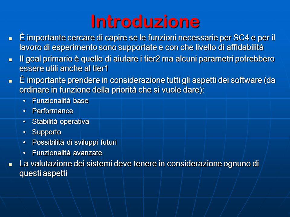 Alcuni dettagli (4) dCache TO DO: Testing della release 1.6.6 Testing della release 1.6.6 Funzionalità di baseFunzionalità di base Fix di alcuni problemi evidenziati in SC3 Fix di alcuni problemi evidenziati in SC3 Funzionalità di SRMv2.1 per SC4 ??Funzionalità di SRMv2.1 per SC4 ?.