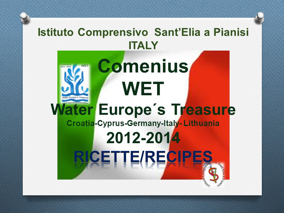 Istituto Comprensivo Sant'Elia a Pianisi ITALY