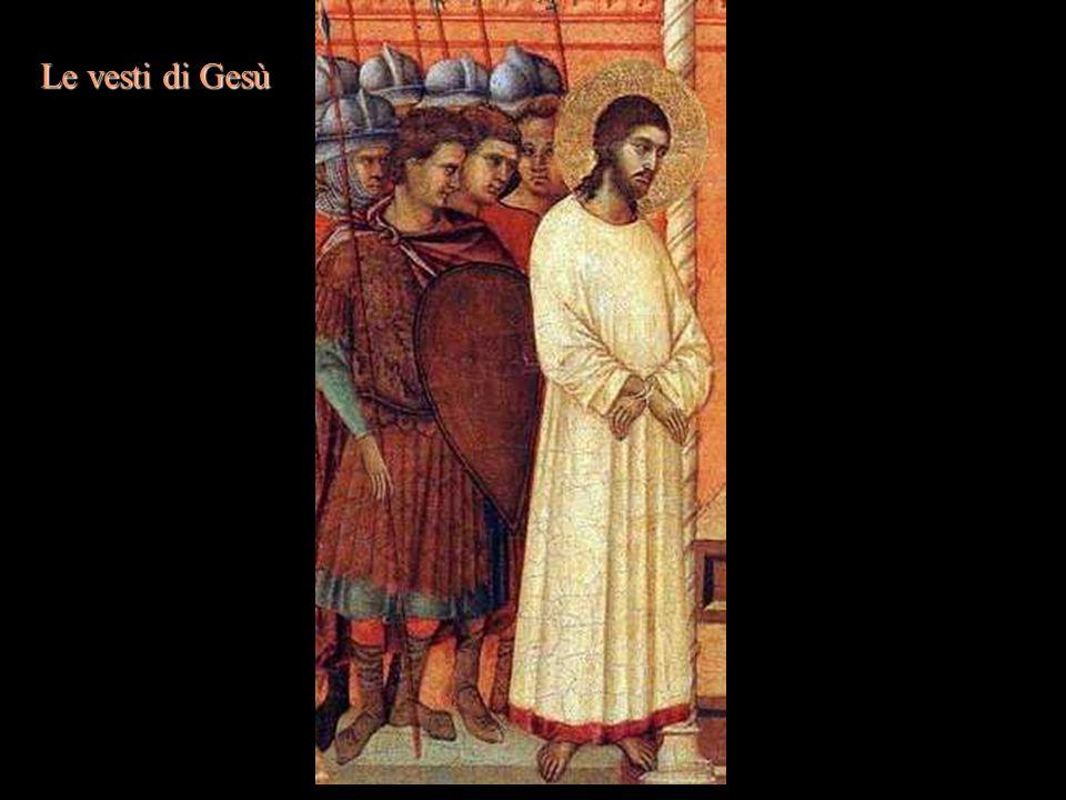 Le vesti di Gesù