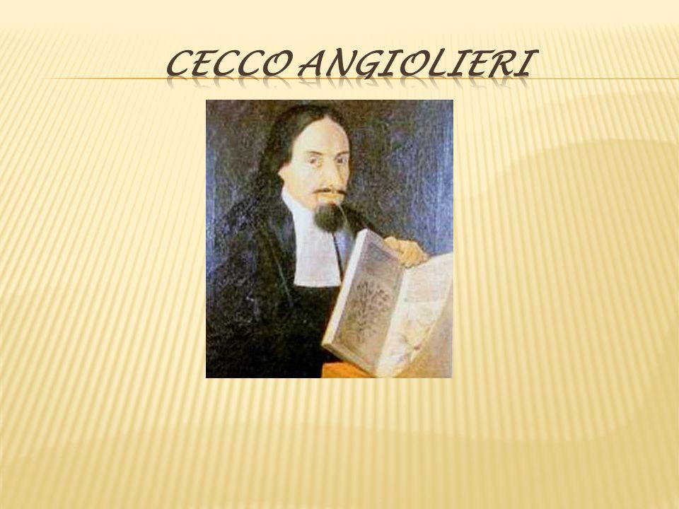 Autore: Cecco Angiolieri.Cecco Angiolieri è nato nel 1260 e morto verso il 1312.