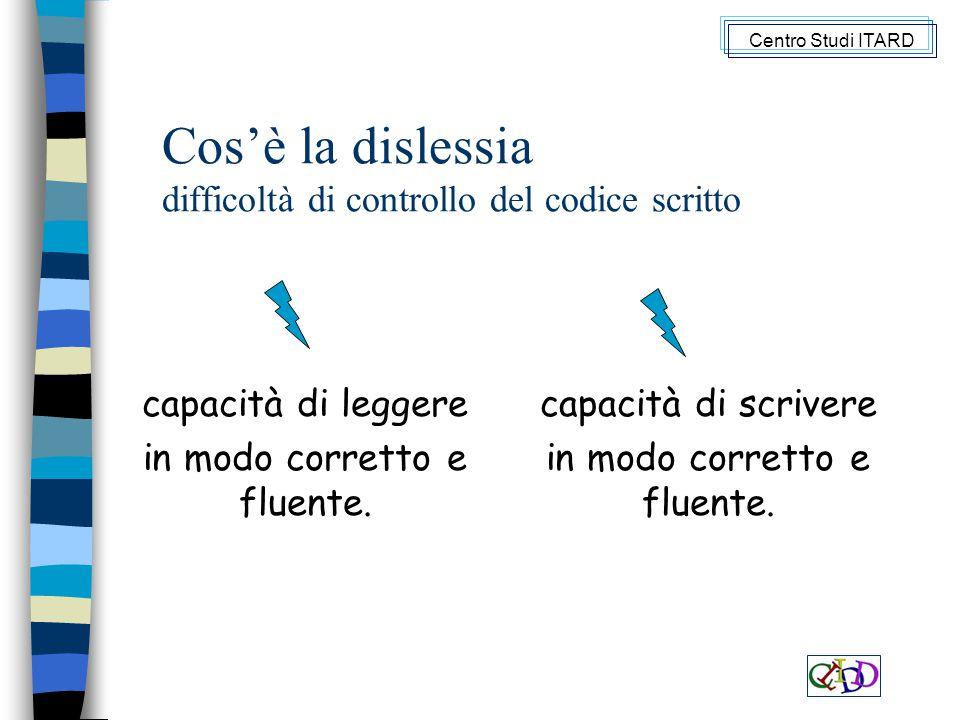 Cos'è la dislessia difficoltà di controllo del codice scritto capacità di leggere in modo corretto e fluente.