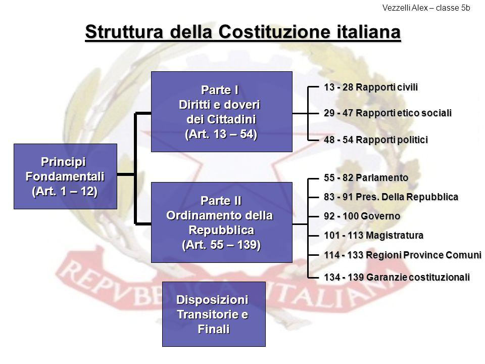 Caratteri La Costituzione, che è stata elaborata e redatta da un'Assemblea Costituente eletta nel 1946, è votata e scritta: Votata, in quanto è stato