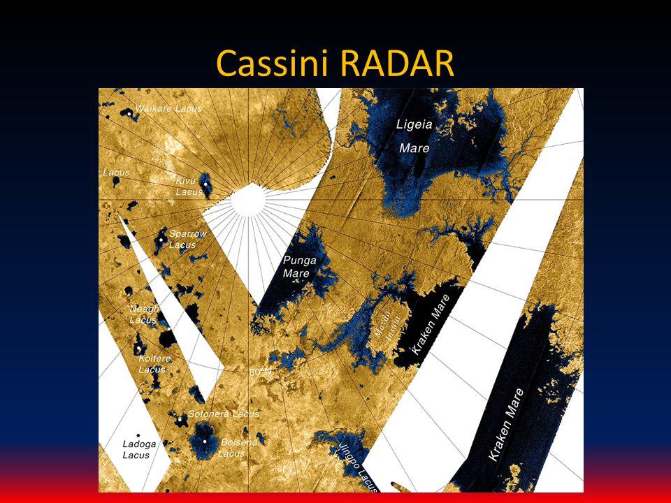 Cassini RADAR