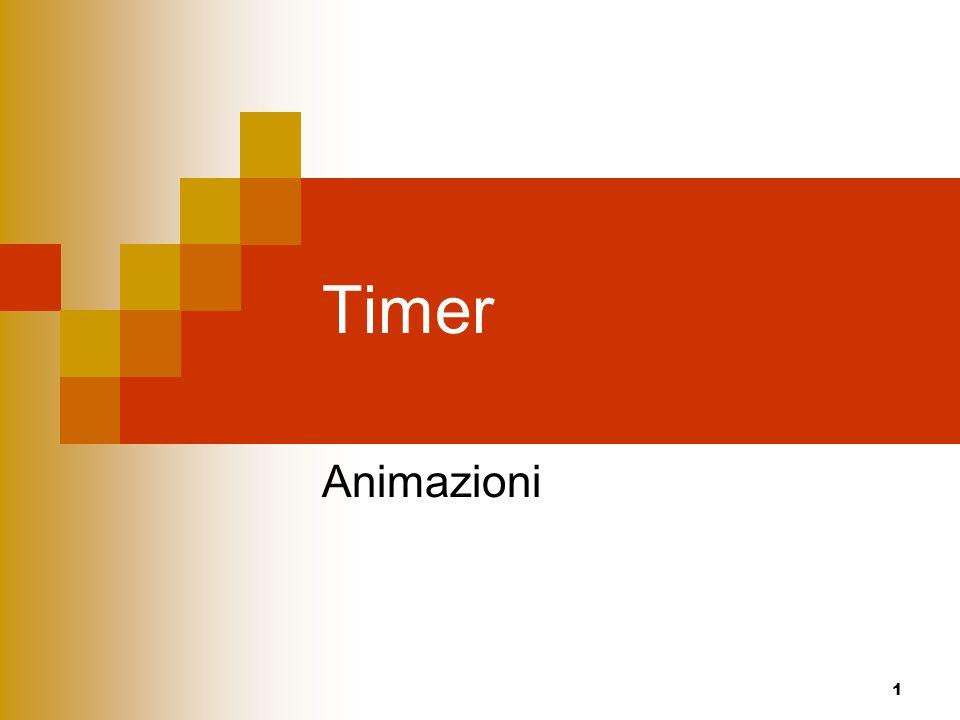 1 Timer Animazioni