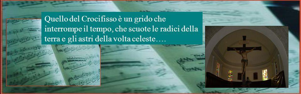 Nel tessuto della musica non c'è solo il soffio della parola, ma anche quello del grido e del silenzio.