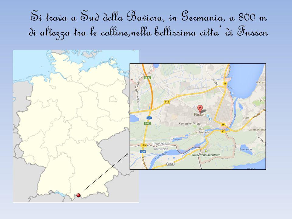Si trova a Sud della Baviera, in Germania, a 800 m di altezza tra le colline,nella bellissima citta' di Fussen