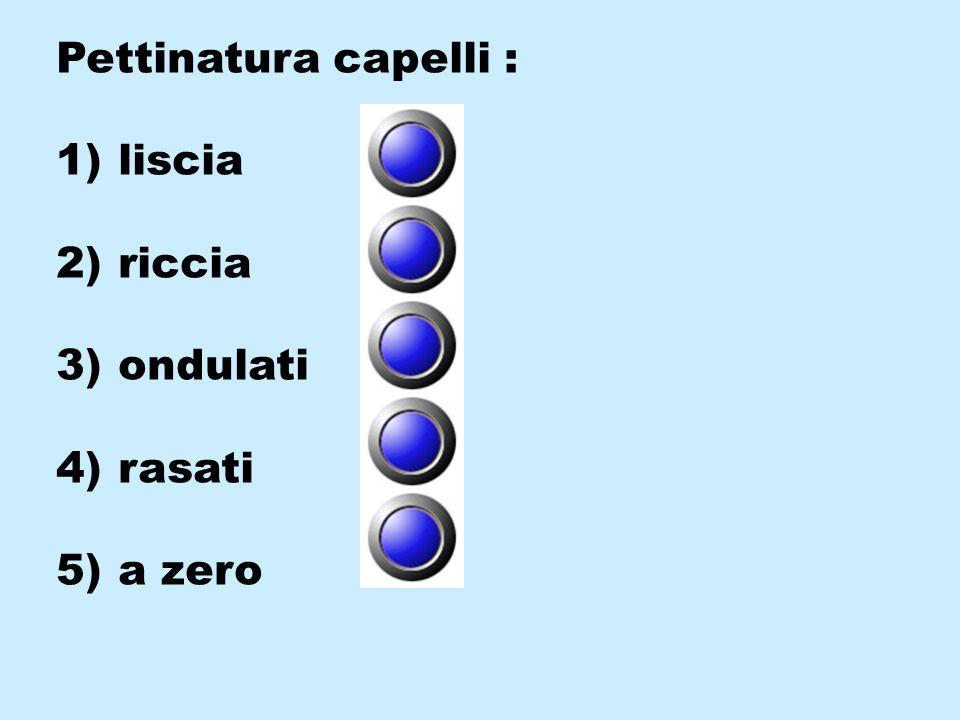 Quando fa' l' amore vorresti che fosse : 1) normale 2) incapace 3) insicura 4) focosa 5) senza limiti