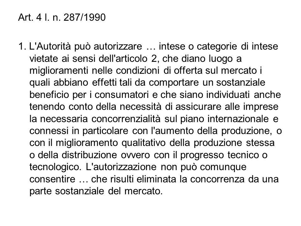 Art. 4 l. n. 287/1990 1.