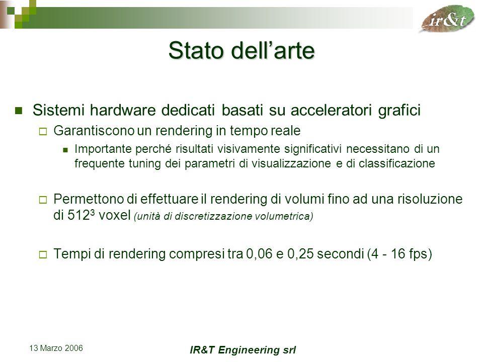 IR&T Engineering srl 13 Marzo 2006 Esempio