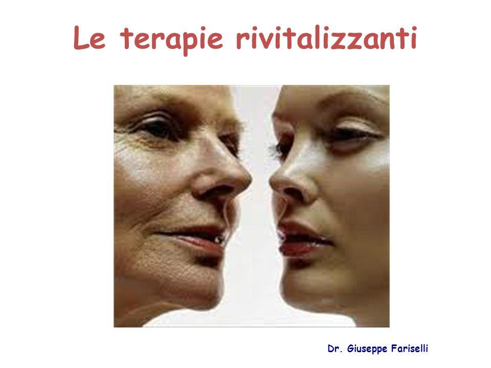 Le terapie rivitalizzanti Dr. Giuseppe Fariselli