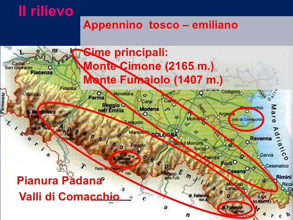 La zona pianeggiante è la parte più estesa della regione e corrisponde alla parte meridionale della Pianura Padana.