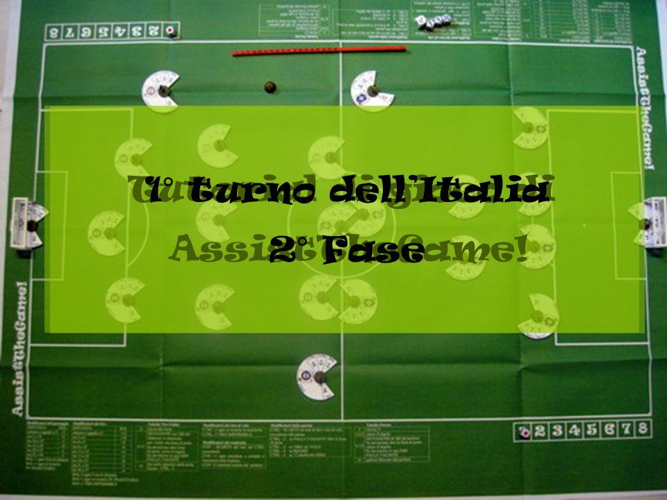 Tutorial di gioco di AssistTheGame! 1° turno dell'Italia 2° Fase