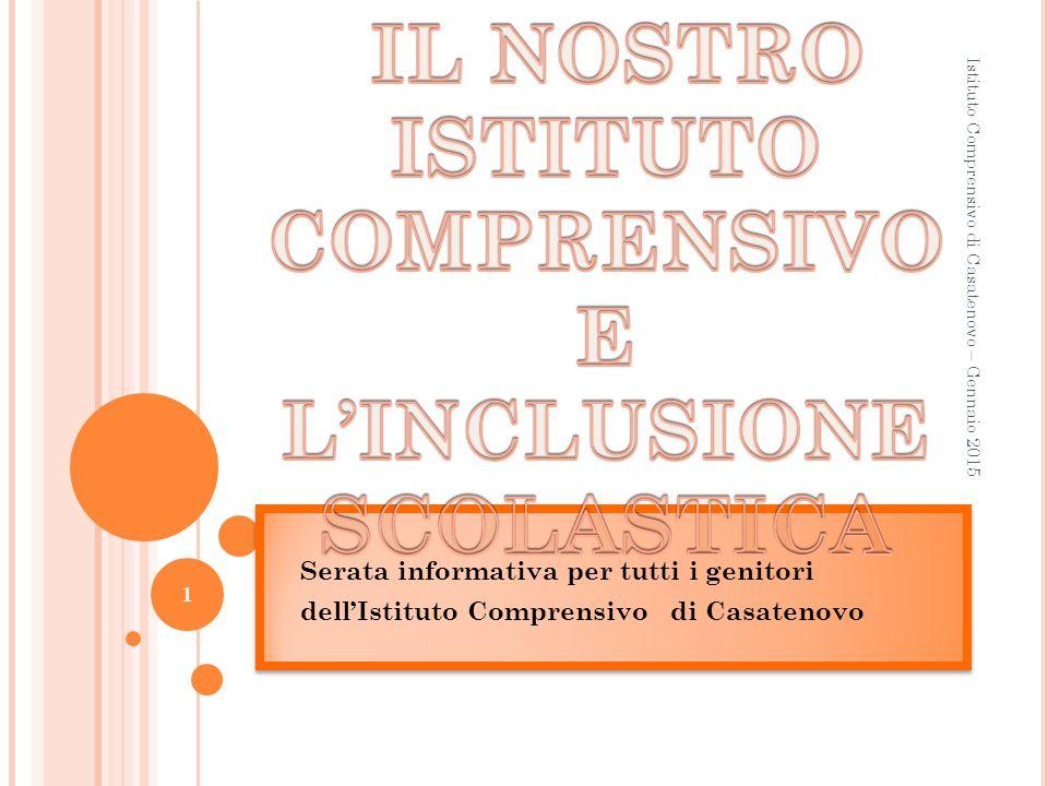 Gli alunni con Bisogni Educativi Speciali e l'inclusione scolastica Relatore: docente referente d'Istituto per gli alunni con B.E.S.
