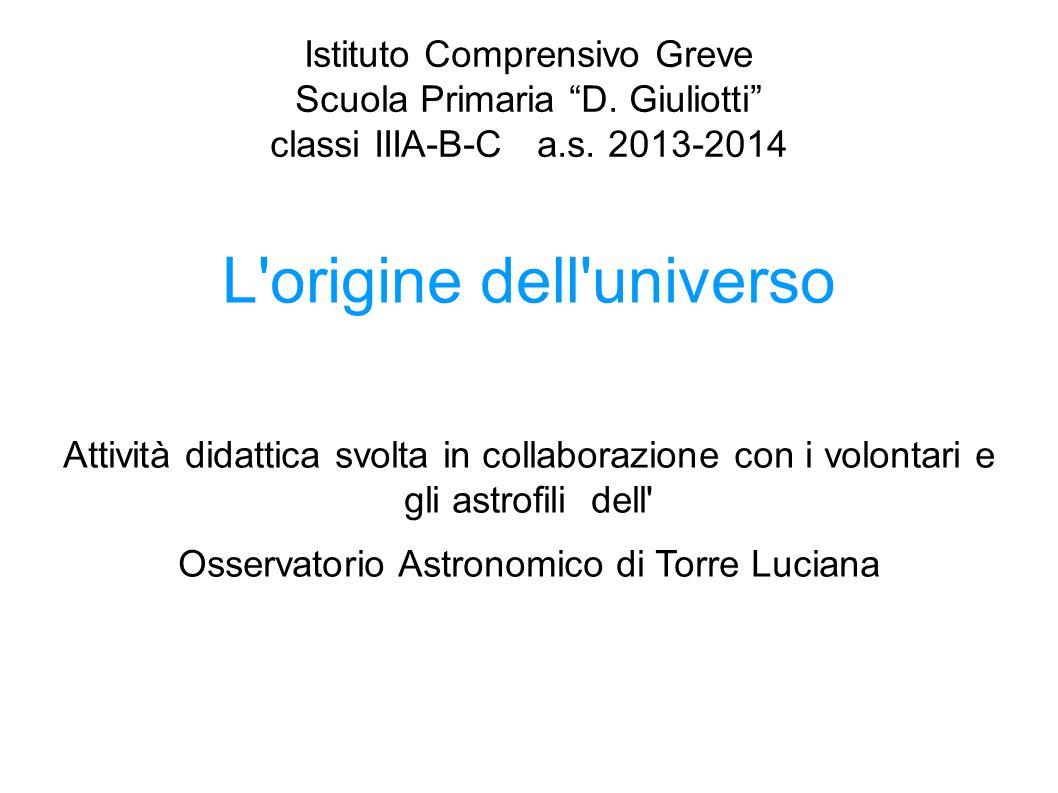 Istituto Comprensivo Greve Scuola Primaria D.Giuliotti classi IIIA-B-C a.s.