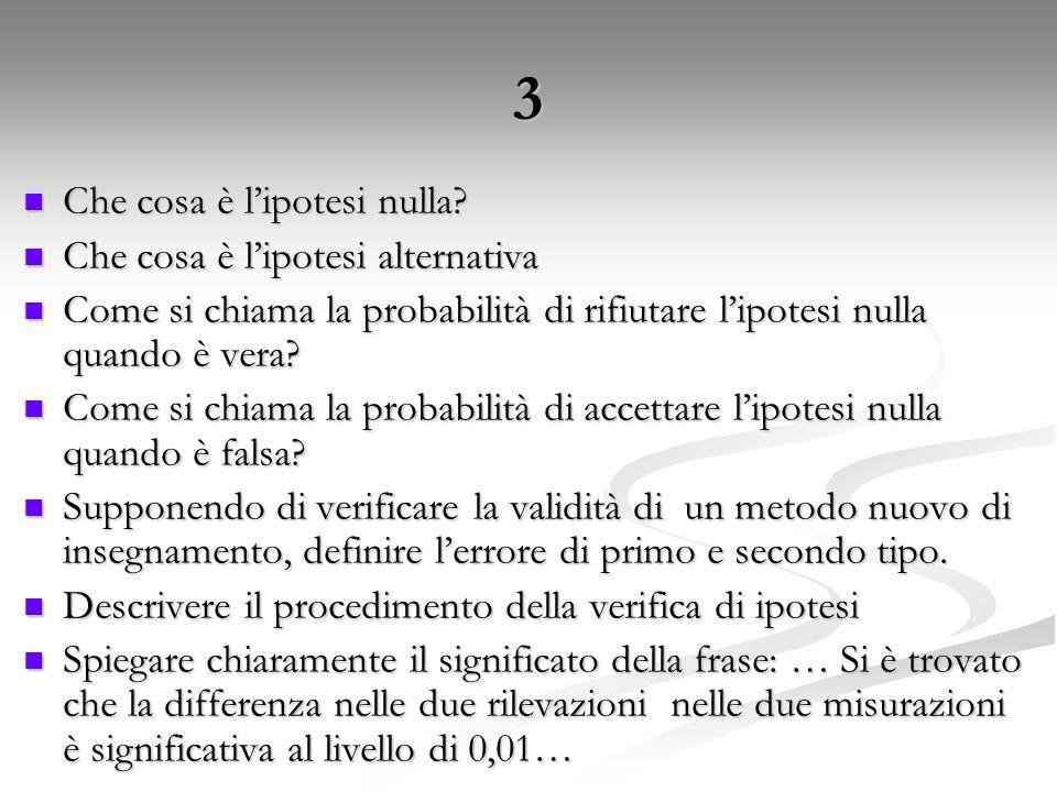 4 Che cos'è la stima intervallare.Che cos'è la stima intervallare.