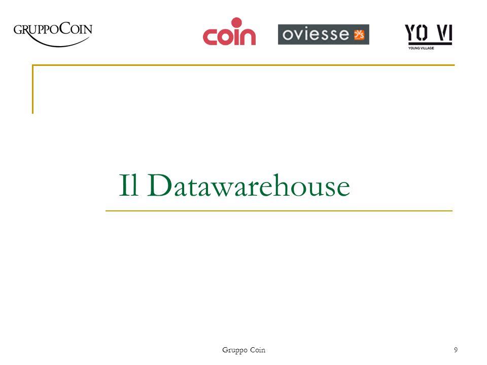 Gruppo Coin9 Il Datawarehouse