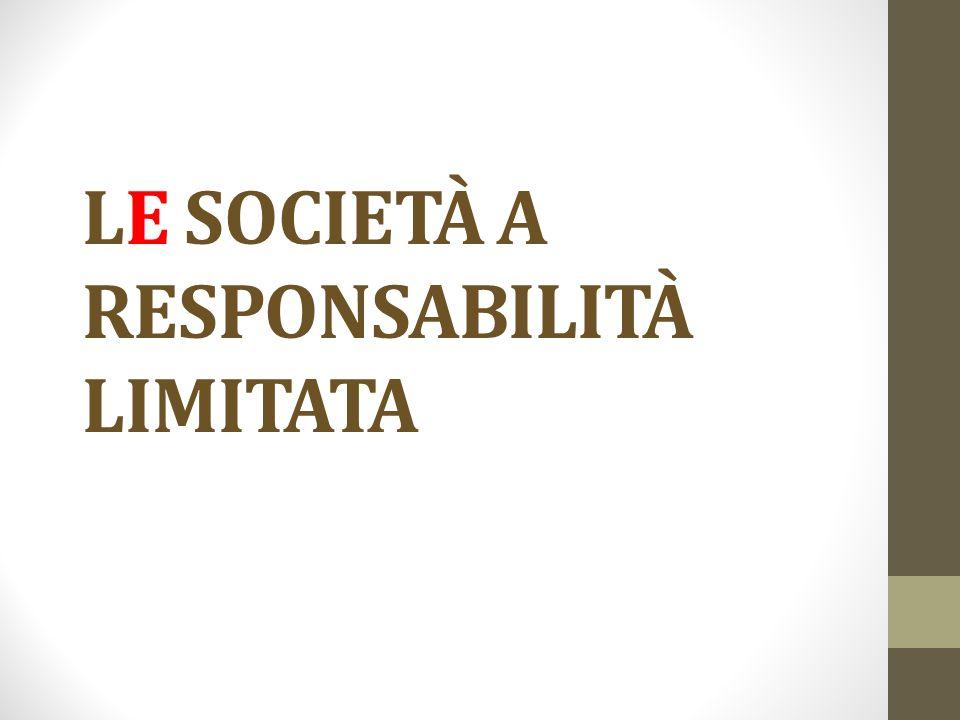 Tipo srl La srl è un tipo di società intermedio tra i tipi delle società personali e i tipi delle società azionarie  srl come società di persone a responsabilità limitata.