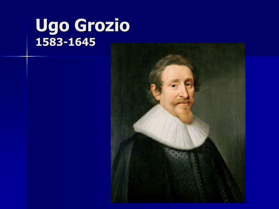 Ugo Grozio 1583-1645