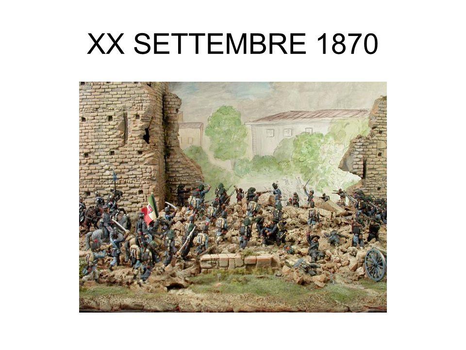 XX SETTEMBRE 1870