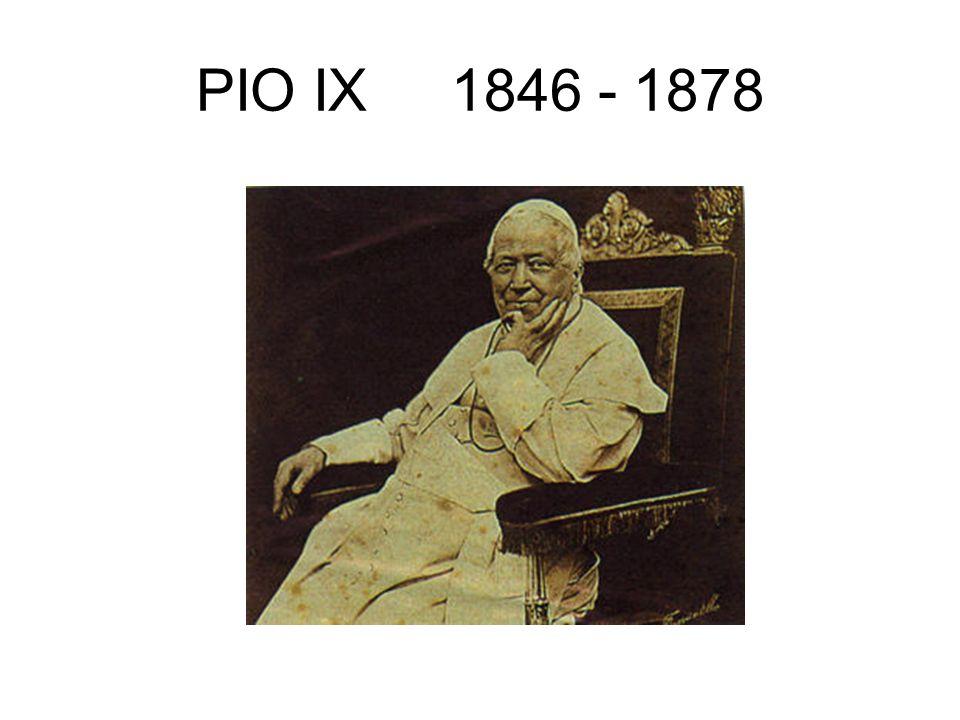 PIO IX 1846 - 1878
