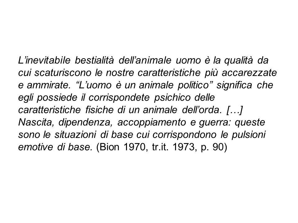 """L'inevitabile bestialità dell'animale uomo è la qualità da cui scaturiscono le nostre caratteristiche più accarezzate e ammirate. """"L'uomo è un animale"""