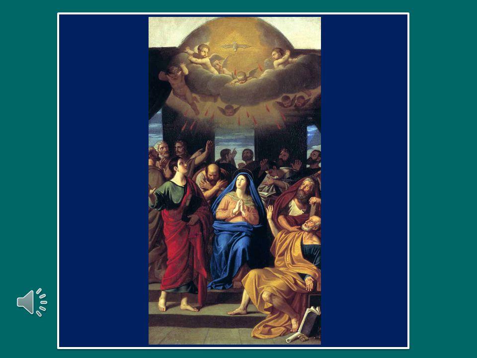 Anche oggi, come al suo nascere, insieme con Maria la Chiesa invoca: «Veni Sancte Spiritus! – Vieni, Spirito Santo, riempi i cuori dei tuoi fedeli e a