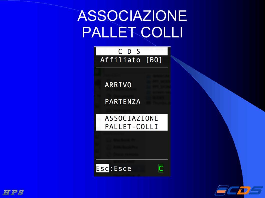 ASSOCIAZIONE PALLET COLLI