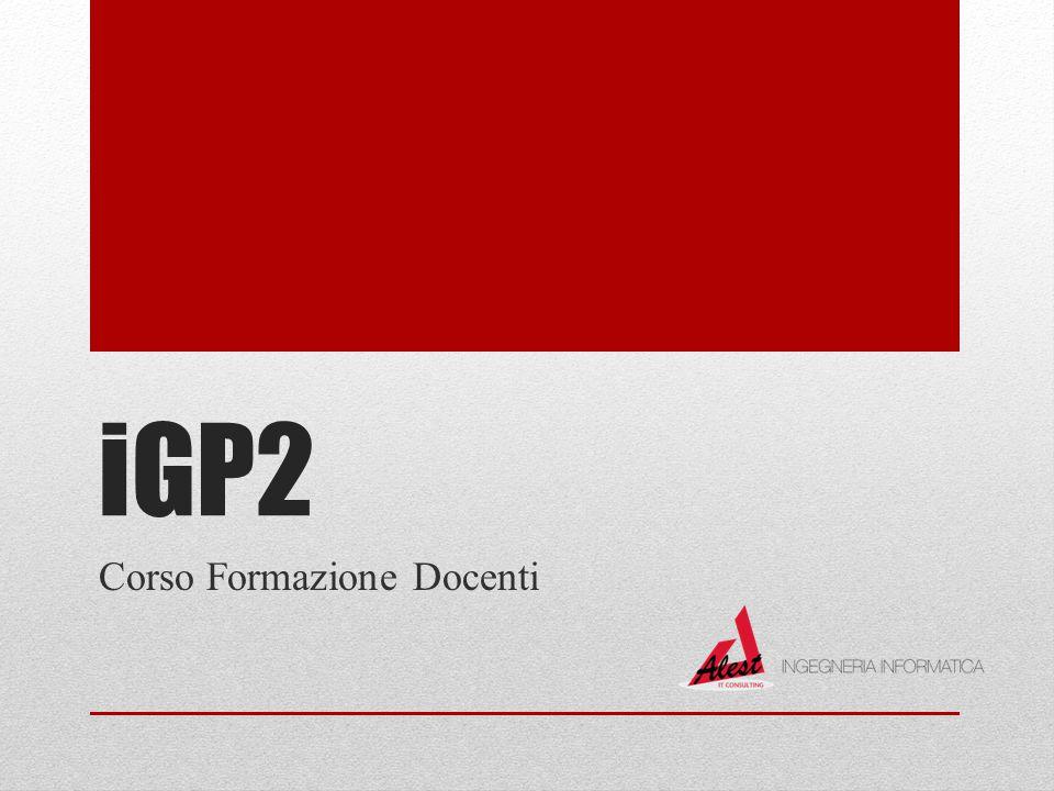 iGP2 Corso Formazione Docenti