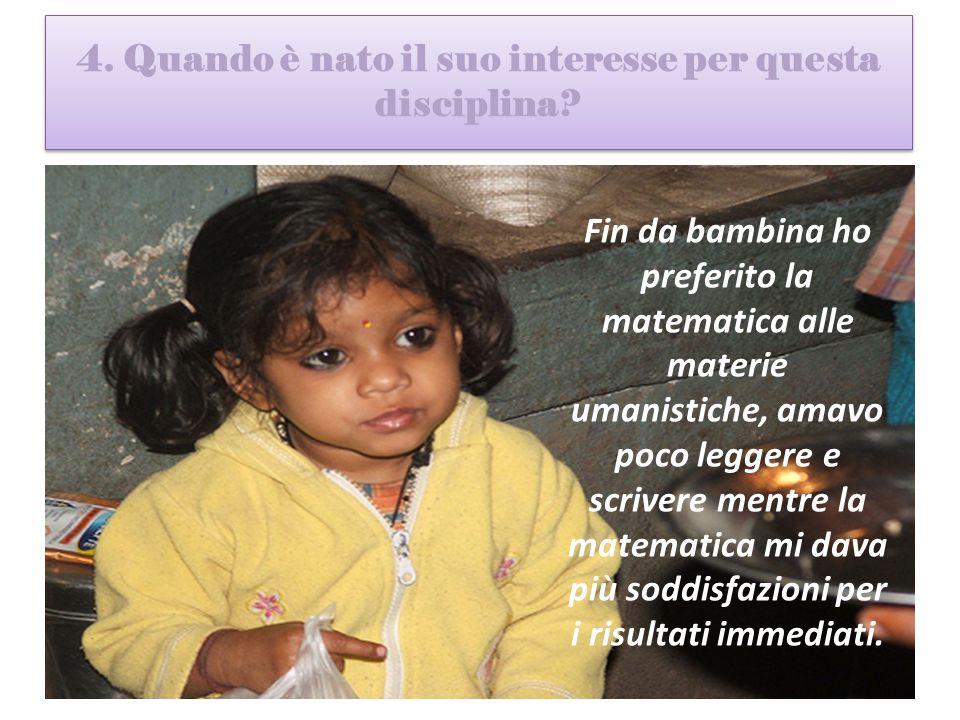 5.A scuola come ha imparato la matematica.