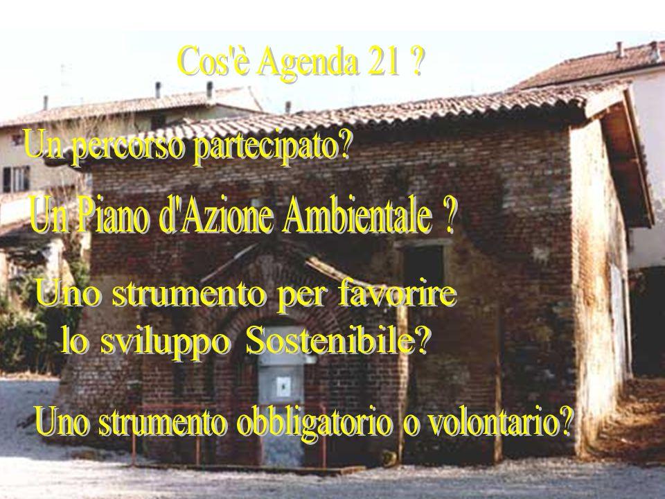 LA DIFFUSIONE DELL'AGENDAXXI IN ITALIA