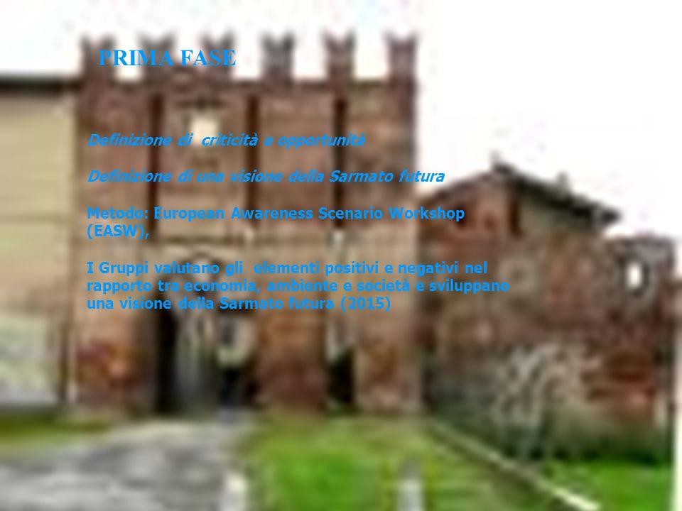 """Fine 2000 Processo del Progetto Agenda 21 Locale - Provincia di Piacenza EASW """"Piacenza Provincia sostenibile nel 2010"""" GRUPPO 1ECONOMIA RISORSE AMBIE"""